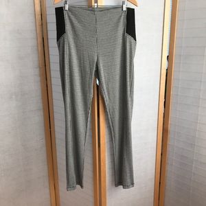 Ashley houndstooth plaid knit pull on pants sz 3X